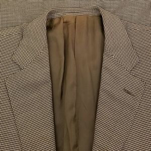 Ermenegildo Zegna Suits & Blazers - Ermenegildo Zegna 15 Milmil 15 Houndstooth Blazer
